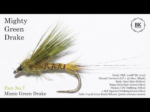 * WESTERN GREEN DRAKE * * 2 FLIES FLY-FISHING-FLIES SIZE 10 *