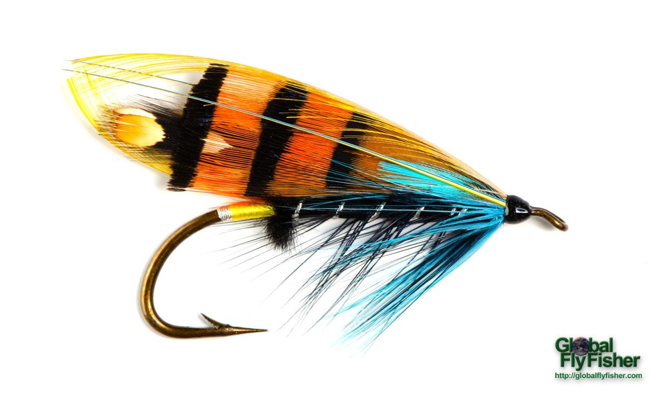 Black ranger salmon fly global flyfisher for Salon fly