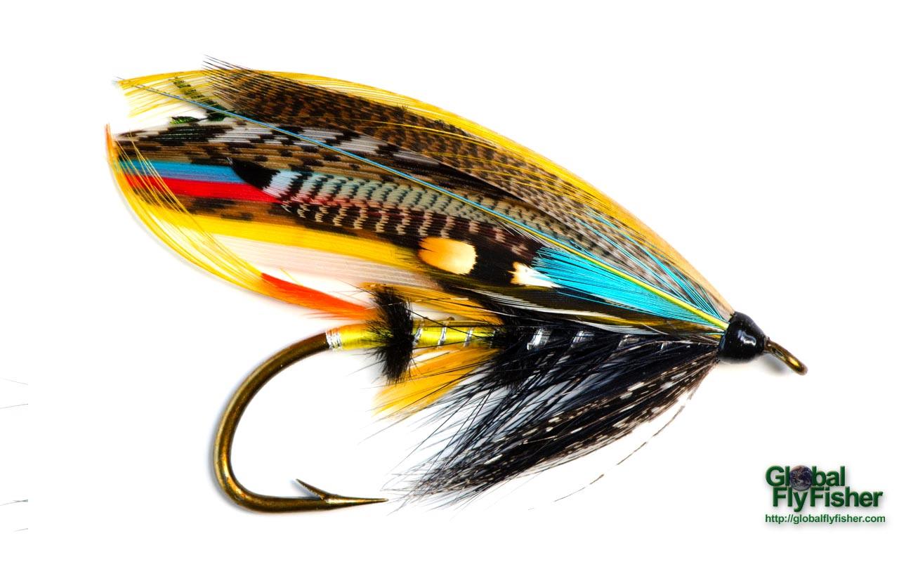 Jock scott salmon fly global flyfisher for Fly fishing fly