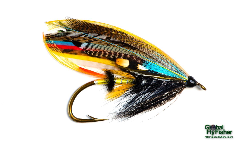 Jock scott salmon fly global flyfisher for Salon fly